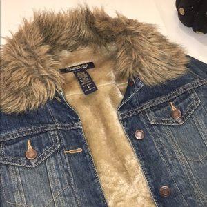 A & F Denim Jacket